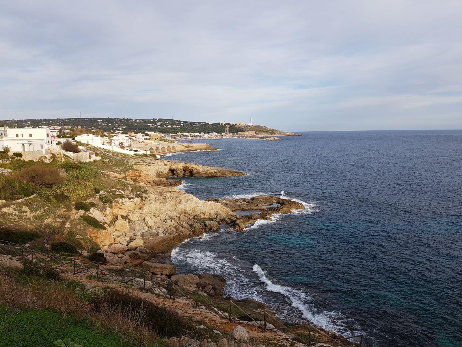 Panorama di Leuca visto dalla Ristola -1