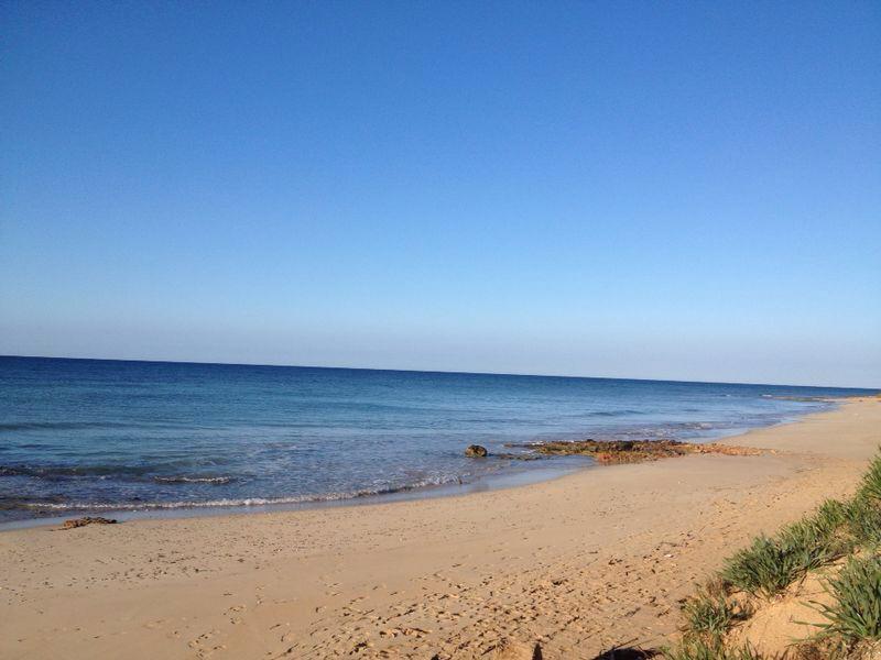 Spiaggia località La Conca