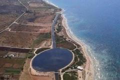 vista aerea del litorale Salvese